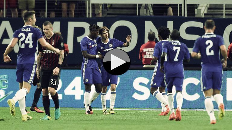 Milan 1 - 3 Chelsea