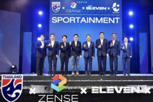 ZENSE จับมือ ELEVEN SPORTS ถือลิขสิทธิ์ถ่ายทอดสดบอลไทยทั้งหมด 8 ปี